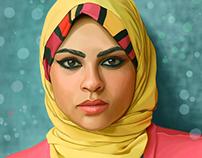 Digital Art ... Yasmin