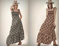 Lissa woman's wear catalog. Photography.