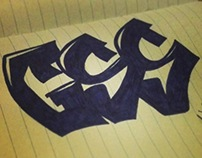 GSS Crew graffiti