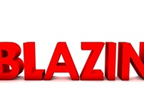 BLAZIN 3D TEXT