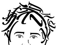 Typographic identity & portrait
