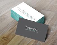 Eli Lapidos // עיצוב לוגו וכרטיס ביקור