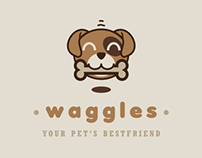 Logo Design for Waggles (Proposal)