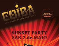 disco coiba flyer design