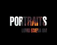 LOMO Smena 8M: portraits.