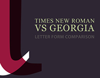 Letter Form Comparison Booklet