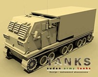 abusenena models - army tanks 3ds