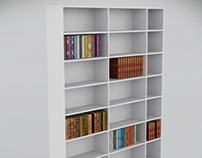 Bookcase for Augmented Reality