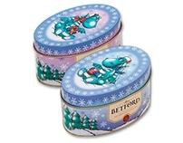 Betford Tea Company. Packaging