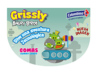 Grissly Angry Birds