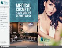 Ottawa Clinic | Horizontal Scrolling Website