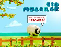 Eid Al Adha 2013 - MustGraphics ( Process )