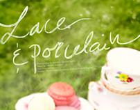 Lace & porcelain