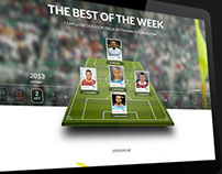 The Best of the Week landing page