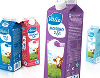 Valio milk for MAXBRANDSON