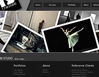 TS Studio website for multiple displays