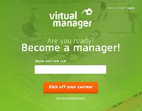 Virtual Manager Landingpage reDesign