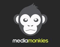 Media Monkies Brand Identity