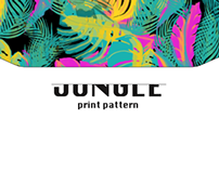JUNGLE SURFACE PATTERN DESIGN