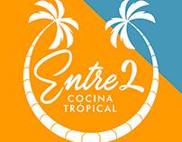 Logo Entre2 Cocina tropical