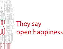 OPEN HAPPINESS