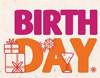 Birthday celebration plan