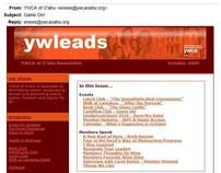 YWLeads - Enewsletter
