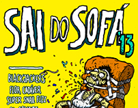 """SAI DO SOFÁ '13"" Cartaz"