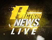 MBC ACTION // MBC ACTION NEWS // GRAPHICS PACKAGE