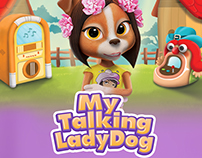 My Talking Lady Dog
