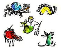 Fantastical Beasts of Myth and Legend
