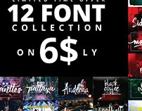 Best 12 Font Collection
