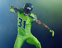 Seattle Seahawks - Color Rush