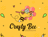 Crafty Bee Collective - Brand Identity