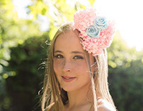 Bridal wreaths - Coronas de flores (Villaviciosa-Spain)