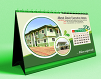 Table Calender Design For Abvic Executive Hotels