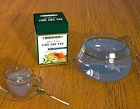Packshot for a funny tea