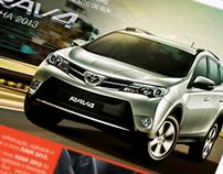 Anúncio Nova RAV4 Toyota Stéfani Motors