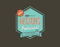 Hector's Restaurant New Logo & T-shirt