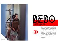Bebo Rodriguez Studio Session
