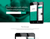 Timenine - iPhone Calculator App