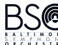 Baltimore Symphony Orchestra Identity Suite