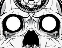 Skull Geometric Mandala