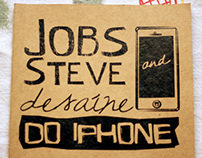 Jobs Steve and desaíne do Iphone