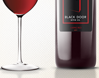 Black Door Wine Co. Design