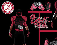 Alabama Crimson Tide Uniform Concept