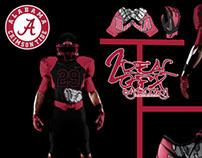 Alabama Crimson Tide Uniform Concept