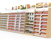 Supermarket Bread Aisle 'Spruce up' (Concept)