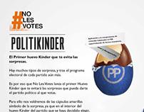 #NOLESVOTES // Politikinder
