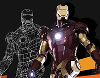 Iron Man Mark III - Vector Project